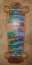 Sims STREET CONCAVE 1987 Team Deck Skateboard RARE VINTAGE Independent Trucks