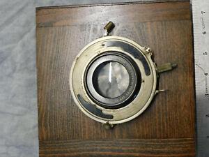 VTG Goerz Dagor 12 inch f/5.6 Series III lens in Volute Shutter Large Format