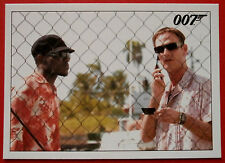 JAMES BOND Quantum of Solace - Card #022 - The Call Activates a Tracking System