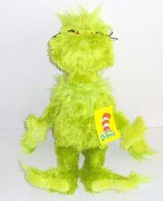 "New Manhattan Toy Dr Seuss GRINCH Plush Christmas Doll 15"" Shaggy Fur P66"