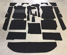 Komplettausstattung Autoteppich für Mercedes W 114-8 115-8 Lim. 19teilig schwarz