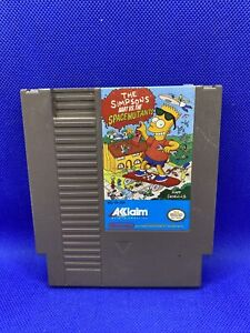 The Simpsons: Bart vs. The Space Mutants (Nintendo NES, 1991) Authentic, Tested!