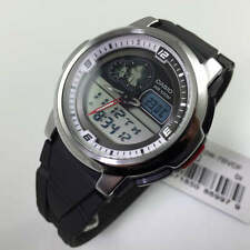 Men's Casio Analog Digital Thermometer Watch AQF-102W-7BV AQF102W-7BV