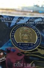 Los Angeles Dodgers Tommy Lasorda Great Dodger Moment Coin #1 SGA 4/19/17