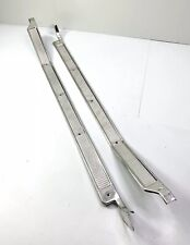 Pair (2) Truck Door Sill Plates For 1973-1979 Ford F100 & Other Models