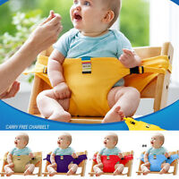 Safe Baby High Chair Dining Eat Feeding Travel Car Seat Harness Belt Fastener