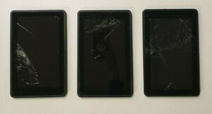 Lot Of 3 Untested Amazon Kindle 8GB D014000 1st Generation - For Parts Or Repair