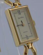 ZentRa 2000 - Handaufzug -Damenarmbanduhr / vergoldet