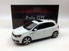 1:18 Shanghai Volkswagen New POLO GTI 2015 White Die-Cast Metal Model