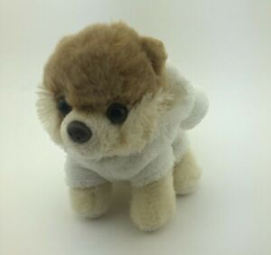 """Gund Itty Bitty Boo with Bear Suit Plush Toy The World's Cutest Dog 5"""" 4037126"""