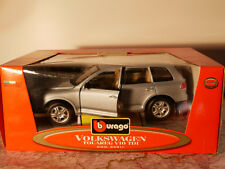 BBURAGO VW TOUREG V10 TDI SILVER  1:18  NEW