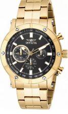 Invicta Specialty 18163 Men's Round Chronograph Black Analog Watch