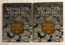 National Parks Quarter Folder (HE Harris) 2010-2021 P& D MINTS (2 - FOLDER SET)