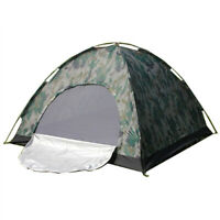 2 Person Outdoor Camping Tent Waterproof 4 Season Hiking Folding Camouflage Tent