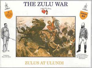 A Call to Arms, The Zulu War, Zoulous À Ulundi, Figurines En 1/32 Aaf 24 St