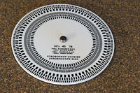 105mm Acrylic Turntable Record Player Strobe Disc Stroboscope Speed Checker