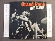GRAND FUNK RAILROAD LIVE ALBUM DOUBLE LP SWBB-633