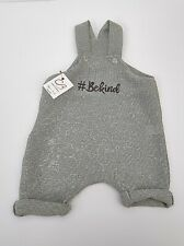 #BeKind Baby Clothes. Blue. Romper.