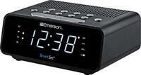 Emerson SmartSet Alarm Clock Radio with AM/FM Radio, Dimmer, Sleep Time and