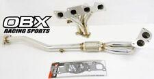 OBX Exhaust Header Fits For 93 94 95 96 97 98 99 00 01 Altima 2.4L (K24DE) 4-2-1