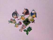 Mixed cartoon anime charms for jewellery making