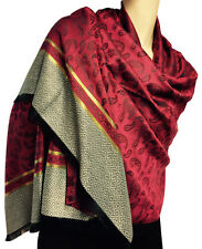 Polyester Paisley Pashmina Scarves & Shawls for Women