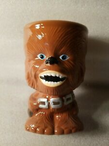 """Star Wars Collectable Chewbacca Gallerie Ceramic Mug Cup Goblet 6"""" Tall"""