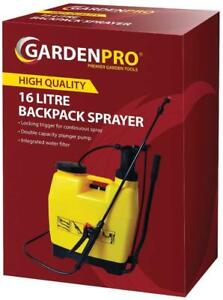 16L Garden Pro Backpack Pressure Sprayer