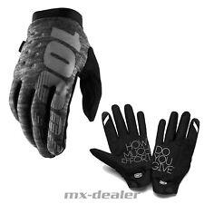 Cycling Full Finger Gloves 100 Hydromatic Brisker Black Large