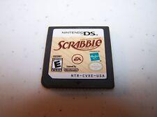 Scrabble Nintendo DS Lite DSi XL 3DS 2DS Game