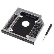 NEW 2nd HDD SSD Hard Drive Caddy for Dell XPS L502X L501X 12.7mm SATA to SATA UK