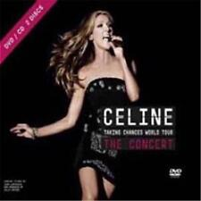 CELINE DION TAKING CHANCES WORLD TOUR The Concert CD & DVD ALL REGIONS NTSC NEW