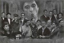 Gangster Collage - Art Poster 24x36 Mafia Tv Movie 49107
