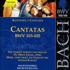 BACH J.S. Cantate Vol.33 (BWV 103/104/105) CD