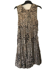 New Look Animal print Maternity dress Size 8