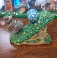 Charming Tails Mackenzie Mouse Easter Egg Chase Silvestri b88