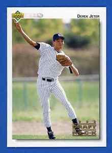 1992 Upper Deck Minor League DEREK JETER Rookie Card #5  ~ NM-MT ~ HOF YANKEES