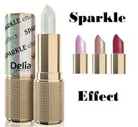 Delia  Be Glamour Cream Glow Sparkle Lipstick Shades 3D Effect Hydrates the Lips