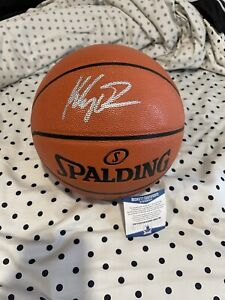 Klay Thompson Golden State Warriors Signed Spalding I/O Basketball - Beckett COA