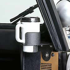 Rugged Ridge 13306.01 Cup Holder Windshield Mount 76-95 Jeep CJ & Wrangler -CLR