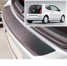 VW UP - Carbon Style rear Bumper Protector