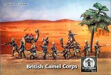 Waterloo 1815 Miniatures 1/72 BRITISH CAMEL CORPS Metal Figure Set