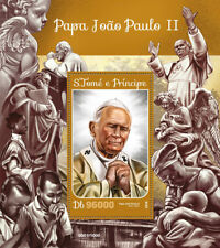 Sao Tome & Principe 2016 MNH Pope John Paul II 1v S/S Popes Stamps