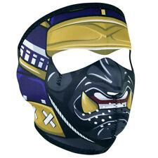 Samurai Assassin Full Face Neoprene Reversible Winter Motorcycle Ski Mask