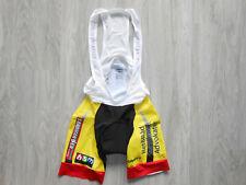 Craft 3L BSM Sandman Jyske Sparekasse pro cycling paddded lycra bib shorts 10-12