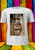 Face Down As* Up Funny Sexy Girl T-shirt Vest Tank Top Men Women Unisex 2216