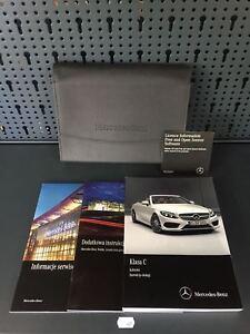 Mercedes C-Class Cabrio Boardbuch 2017 Manual de Instrucciones Libro de a Bordo
