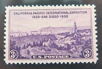.US STAMP #773 1935 3c PURPLE PSE GRADED XF-SUP 95J, MINT OGnh.