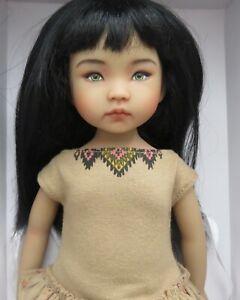 "Dianna Effner  Little Darling Doll 13"" Sculpt #1 UFDC 2014  Ana Repaint"