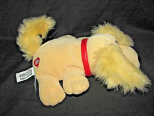 2000 Pound Puppies Plush Tan Dog with Red Collar
